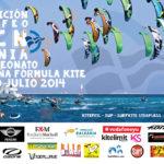 Cartel Campeonato fórmula Kite en Dénia