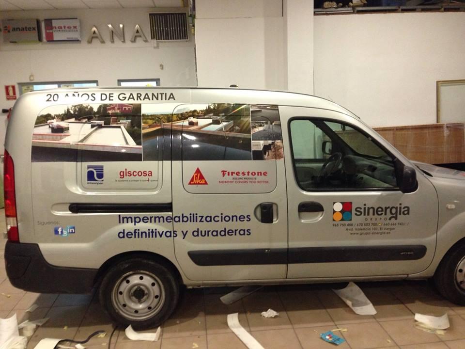 rotulación de vehículos para empresas