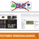 Tienda online de padel Boutiquepadel y webdepadel